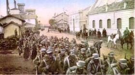Βαλκανικοί Πόλεμοι - Έλληνες στρατιώτες εισέρχονται στη Θεσσαλονίκη