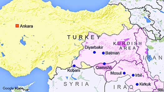 Kurdistan-in-turkey