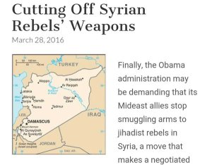 obama rebels syria guns