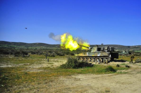 επιχειρησιακής εκπαίδευσης των Μονάδων Πυροβολικού της 95 ΑΔΤΕ (3)