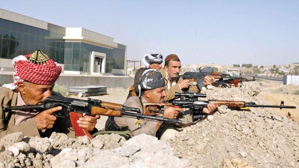 Kurds fighters