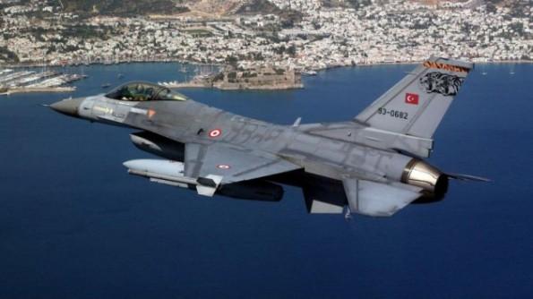 Turkish plane-Aegean
