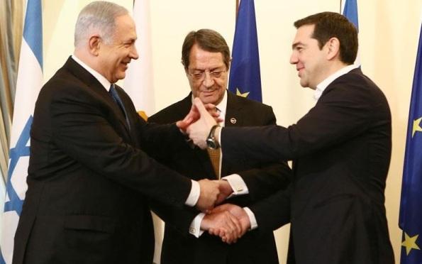 trimeris_tsipras_anastasiadis_netanyahou